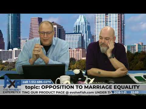 Opposition to Marriage Equality | Don Baker | Atheist Experience 22.03