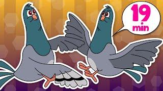 Burra Pitta + More Telugu Rhymes  For Kids | 2D Animation | Children Cartoon Songs