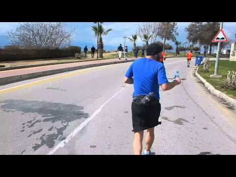 Runatolia 2015 Maratonun da 30 kmyi geçerken