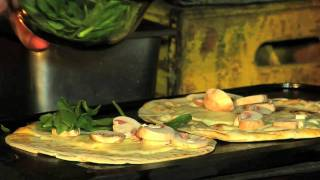 How To Make Mushroom And Spinach Quesadillas With Chef Tony | Pottery Barn