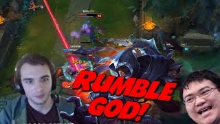 Talon Mid and Rumble Jungle ft. Scarra and Valkrin