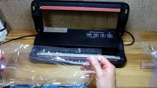 【販売価格:12,980円】フードシールド JP290 対応幅を超える袋(幅35cm袋)