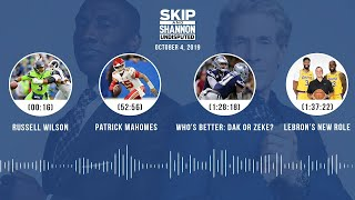 UNDISPUTED Audio Podcast (10.04.19) with Skip Bayless, Shannon Sharpe & Jenny Taft | UNDISPUTED