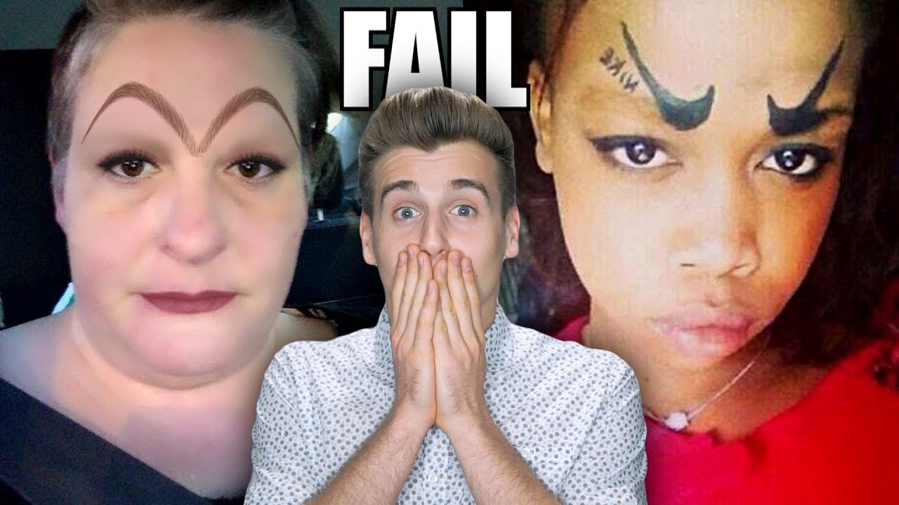 Eyebrow Fails You Cant Unsee YouTube - 28 hilarious eyebrow fails