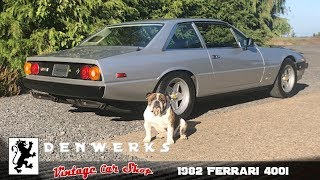 1982 Ferrari 400i V12 CIS - Denwerks - Italian