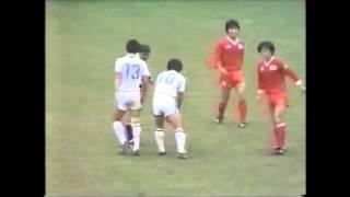 Japan 1 South Korea 2 WCQ 1985 日本対韓国