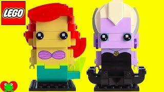 Disney Princess Ariel and Ursula Lego BrickHeadz Build 41623