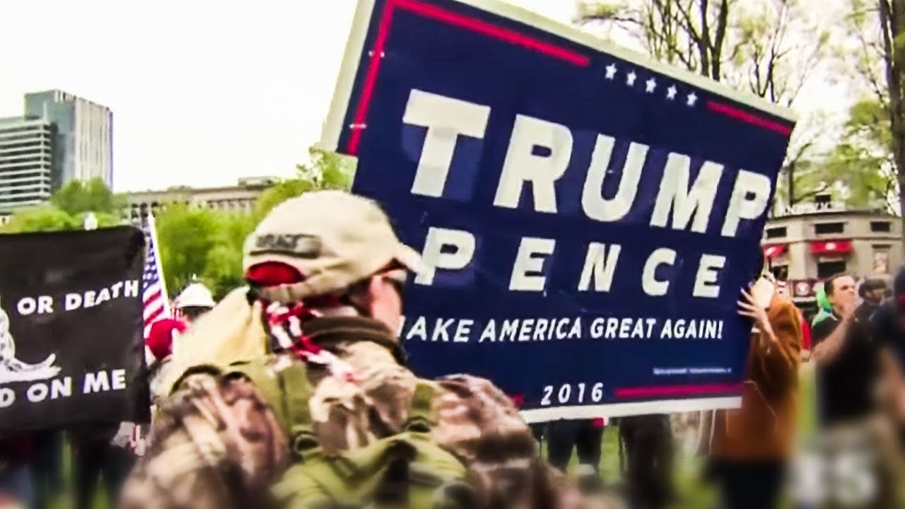 Armed Militias Taking Trump's Call For Civil War VERY Seriously