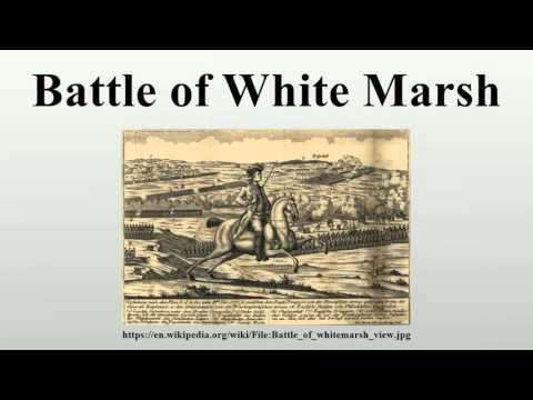 Battle of White Marsh