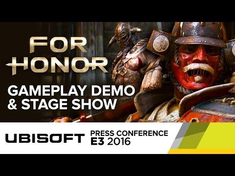 For Honor Full Gameplay Demo & Stage Show - E3 2016 Ubisoft Press Conference