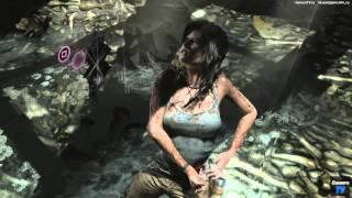 Tomb Raider Definitive Edition PS4 обзор (видео обзор) и  первые минуты игры