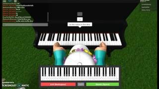 Cómo tocar megalovania undertale en el piano roblox