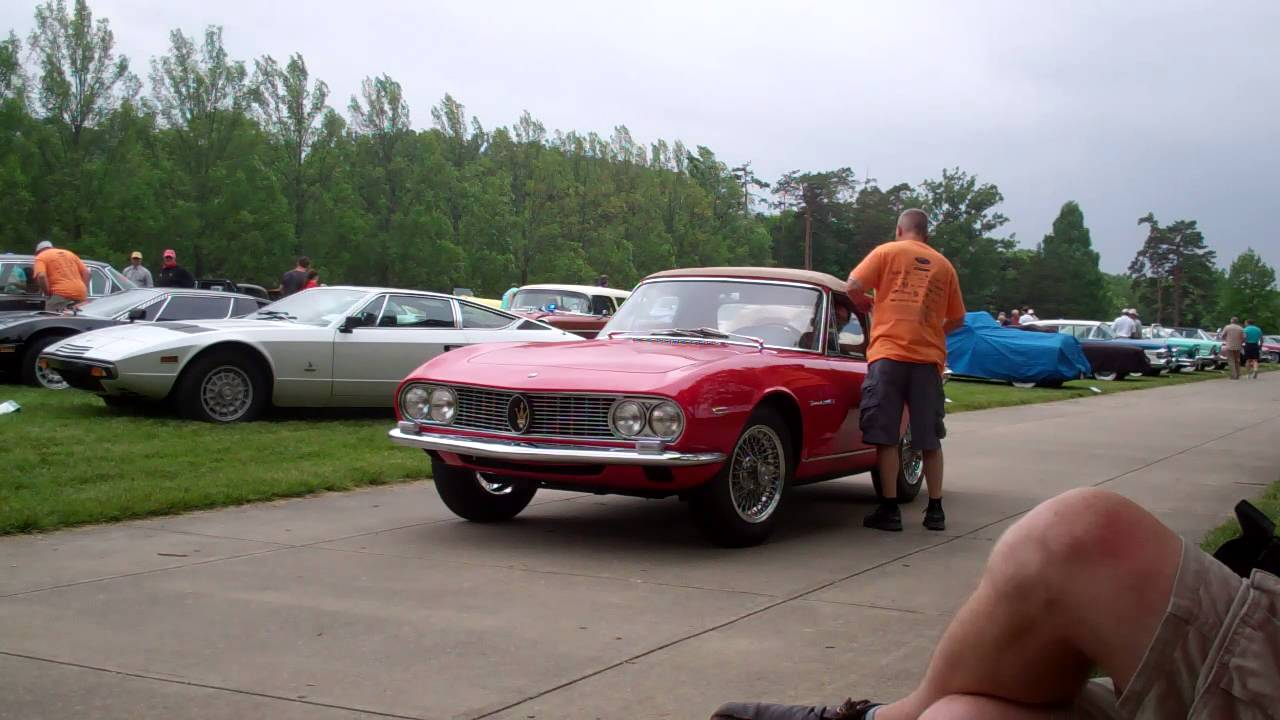 1964 Maserati 3500 GTi Spider by Vignale (part iii) - YouTube