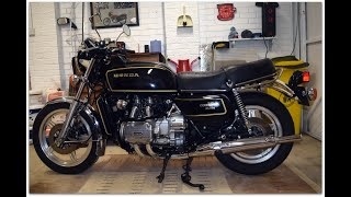 "(NOW SOLD) FOR SALE 1978 HONDA GL1000 GOLDWING ""PLAIN JANE"" MODEL  -JUST 13,728 MILES WALK AROUND"