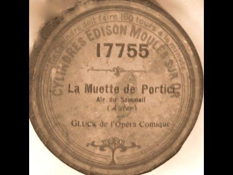 Edmond Glück - La Muette de Portici (RARE!)