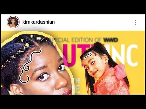 "Kim Kardashian USE Daughter to Start NEW ""BABY HAIR"" TREND  #Trend"