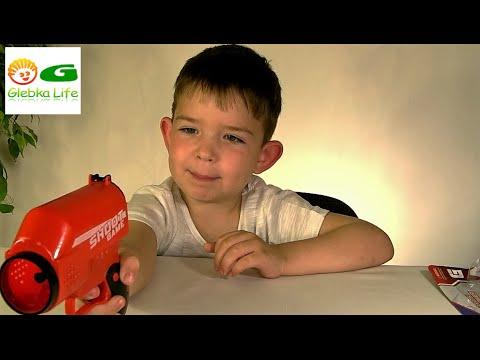 Детское оружие: стреляем шариками. Игрушки для мальчиков. Baby Weapon. Toys for boys.