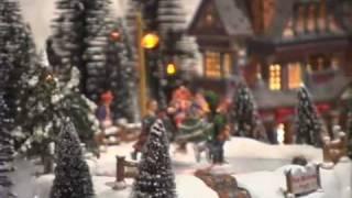 Victorian Village Storefront Christmas Display