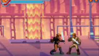Star Wars Episode III (GBA): Anakin vs Obiwan