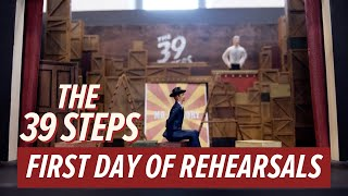 The 39 Steps: The First Day of Rehearsals | #Barn39Steps