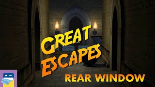 Great Escapes: Apartment / Rear Window Walkthrough & iOS / Android Gameplay (by Glitch Games)