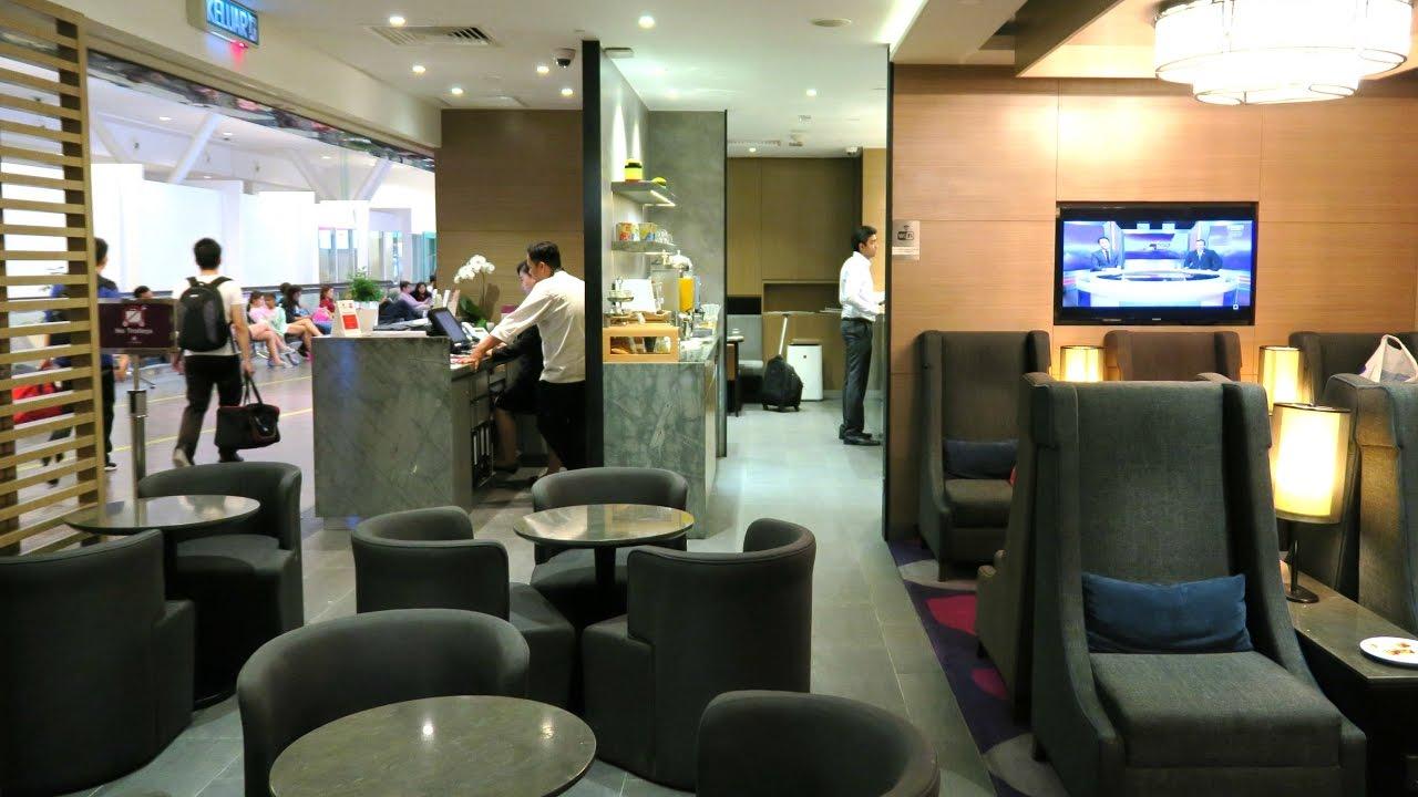 Plaza Premium Lounge International Departure Klia2 Review Youtube