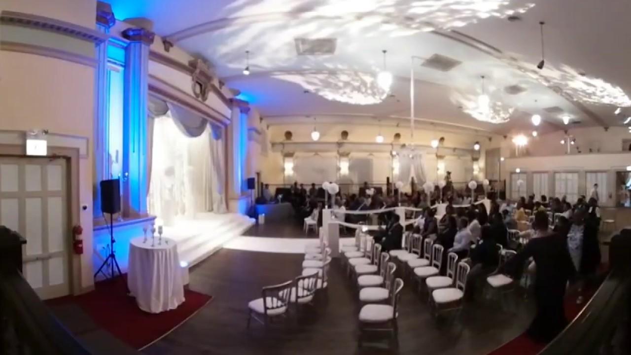 Vr 360 Wedding Ceremony: Anna & Kaya's Wedding Ceremony In Full 360.