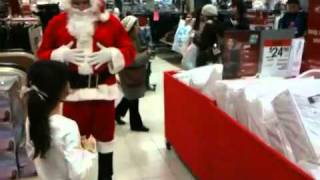 Running Into Kris Kringle At The Mall