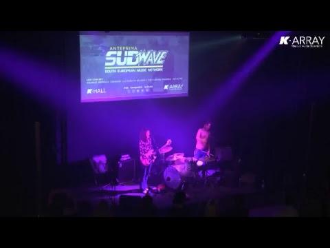 SUDWAVE concerto rock live nella music-hall di K-array