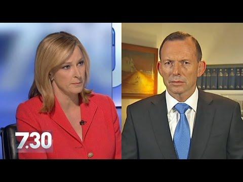 Abbott defends economic record as Prime Minister (7.30)