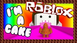 I'M A CAKE! - Roblox Feed Cake To The Giant Noob