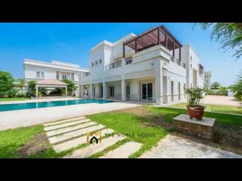 The Noble House Real Estate Presents An Emirates Hills Villa For Rent TNH R 1290