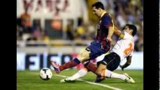 Cuplikan Gol Valencia vs Barcelona 2-3 ~ Hasil Liga Spanyol 1/2-09-2013