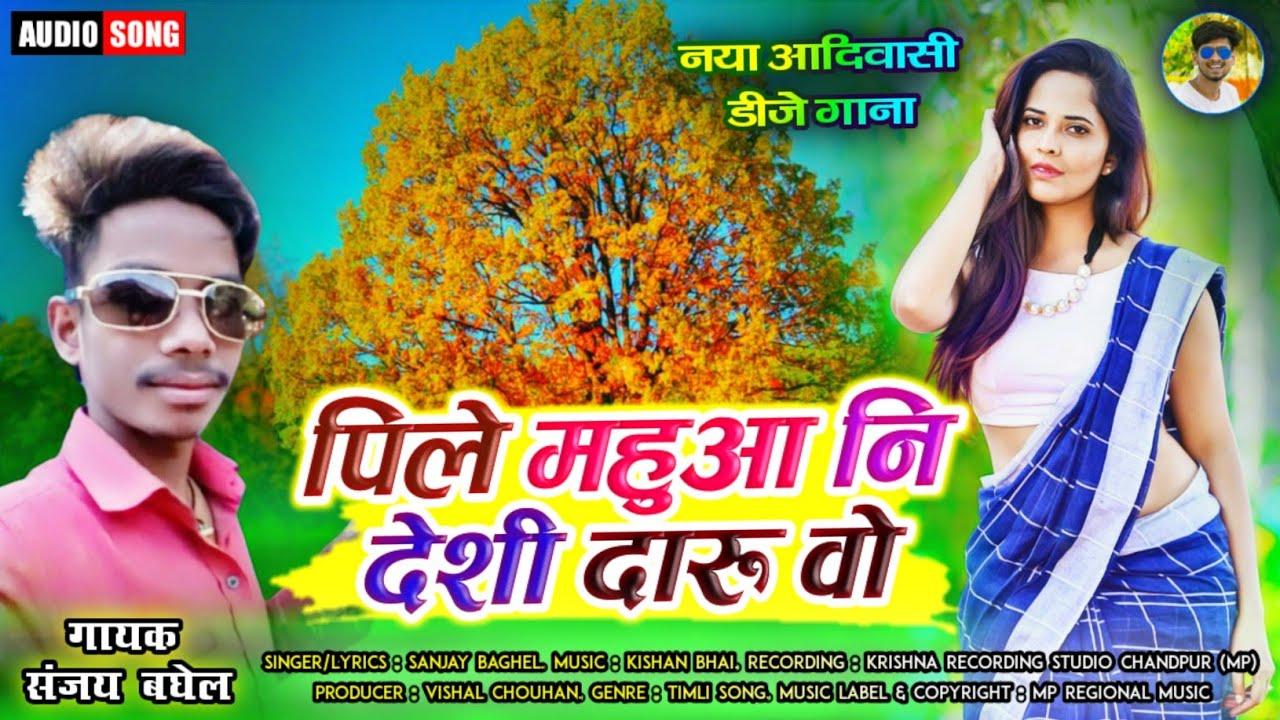 पिले महुआ नि देशी दारु वो - Pile Mahua Ni Deshi Daru Vo | Sanjay Baghel | Latest Timlo Song 2020