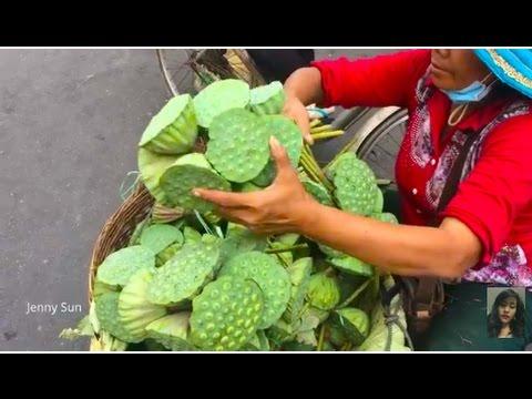 Asian Street Food, Natural Living In Cambodian Market, Village Food Compilation