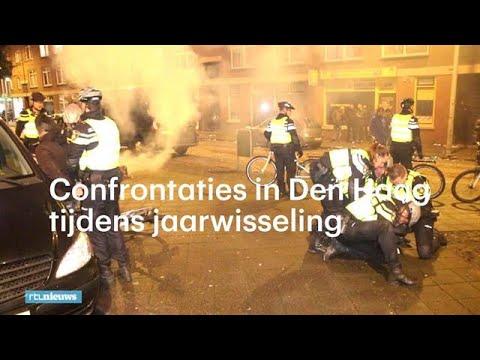 Harde confrontaties in Den Haag tijdens jaarwisseling - RTL NIEUWS