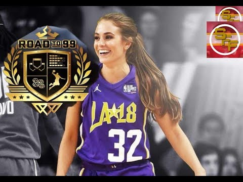 Rachel Demita Celebrity All Star Game Highlights (02/16/2018) 17 Pts, SPLASH, ROAD TO 99!