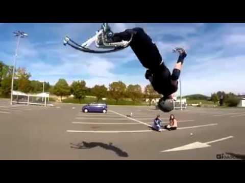 The jumping stilts make you a sky runner