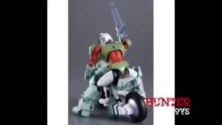 Robotech Genesis Climber Mospeada Scott Bernard Cyclone Toy Figure