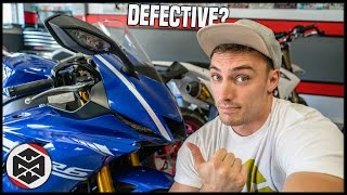 Problems with the 2017 Yamaha R6