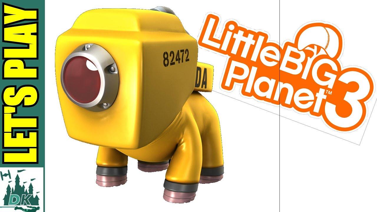 Monsters Inc Cda Littlebigplanet 3 Gameplay Youtube