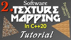Texture Mapping & Polygon Rasterizing Tutorial (2/2) [C++20]