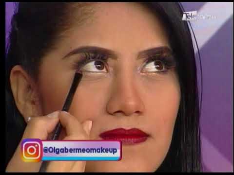 Cómo maquillar los ojos cuando usamos labiales fuertes