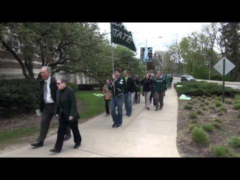 Inaugural Michigan State University Ring March