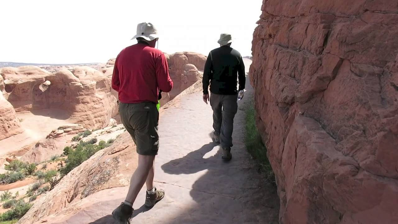 Hike To Delicate Arch Utah