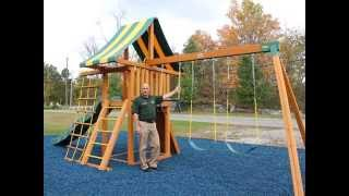Dreamscape Wooden Swing Set (video For Desktops And Laptops)