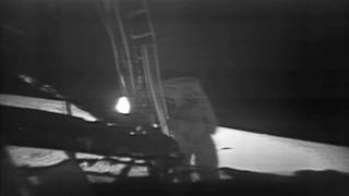 Apollo 11 Moonwalk Montage
