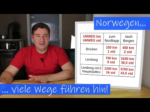 Norwegen - Wie kommt man da eigentlich hin?