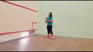 Pakistan's longest hair girl Squash player Zahib Kamal make world record, Sportswire Pakistan