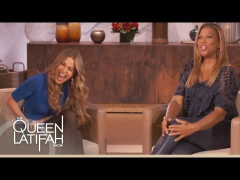 Sofia Vergara's Trouble With Accents on The Queen Latifah Show